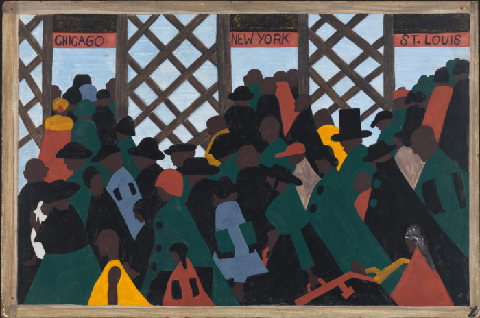 Migration Series. Jacob Lawrence, 1941