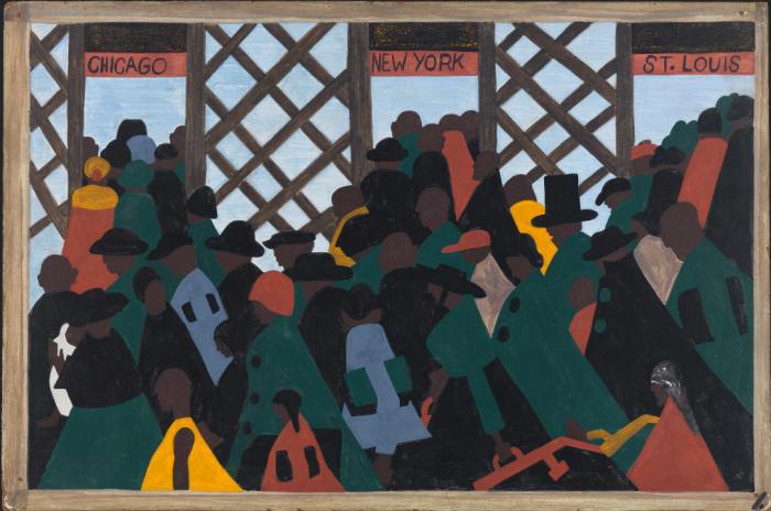 Migration Series. Jacob Lawrence, 1941