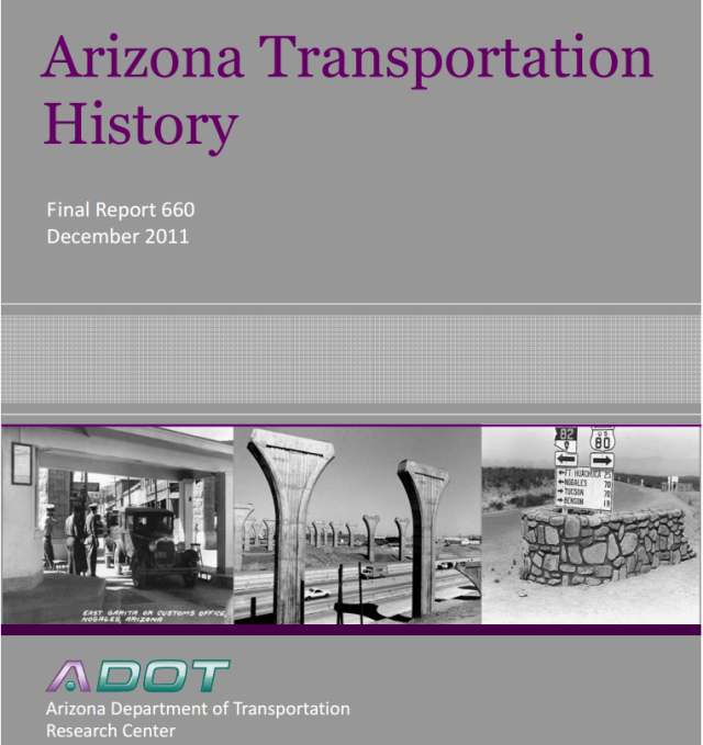 Arizona Transportation History Report