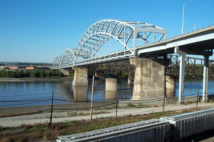 Broadway Bridge Jackson County, Missouri, and Clay County, Missouri