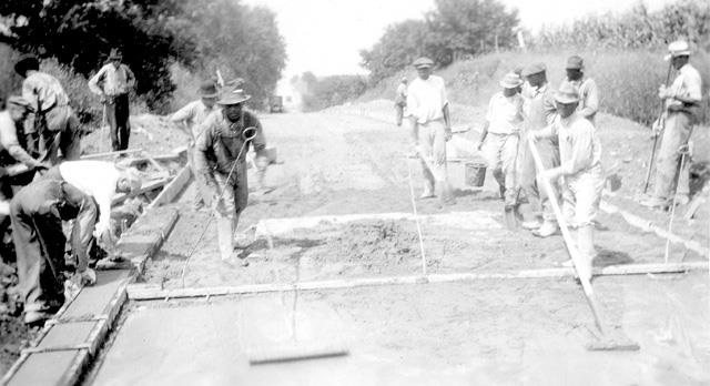 Road Paving in the 1890s